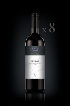 IGT Toscana Rosso Merlot - Organic - Personal Edition - n°8 Bott. 0,75 Lt