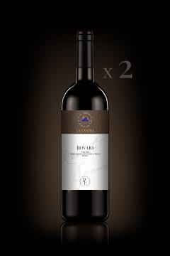 "IGT Toscana Rosso ""Rovaio"" - Biologico - Personal Edition - n°2 Bott. 0,75 Lt"
