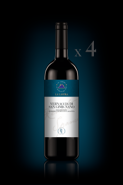 Vernaccia di San Gimignano DOCG - Biologico - Personal Edition - n°4 Bott. 0,75 Lt