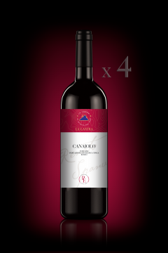 "IGT Toscana Rosso ""Canaiolo"" - Biologico - Personal Edition - n°4 Bott. 0,75 Lt"