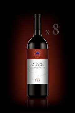 Chianti Colli Senesi DOCG - Organic - Personal Edition - n°8 Bott. 0,75 Lt