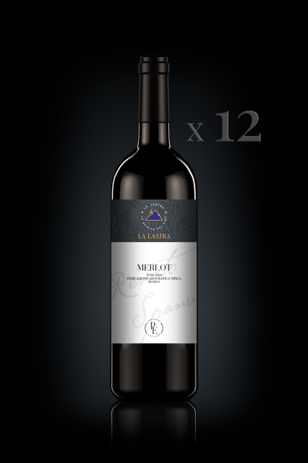 "IGT Toscana Rosso ""Merlot"" - Biologico - Personal Edition - 12 Bott. 0,75 Lt"