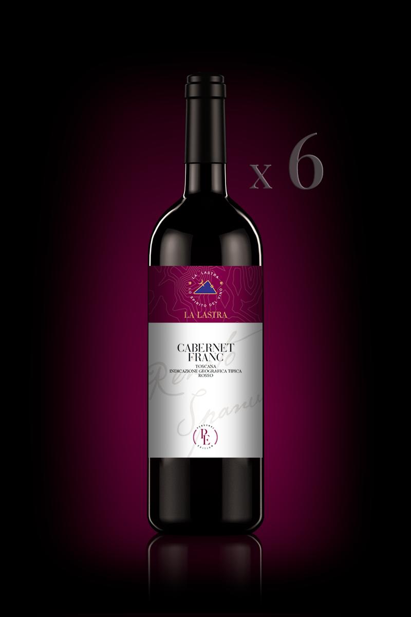 "IGT Toscana Rosso ""Cabernet Franc"" - Biologico - Personal Edition - 6 Bott. 0,75 Lt"