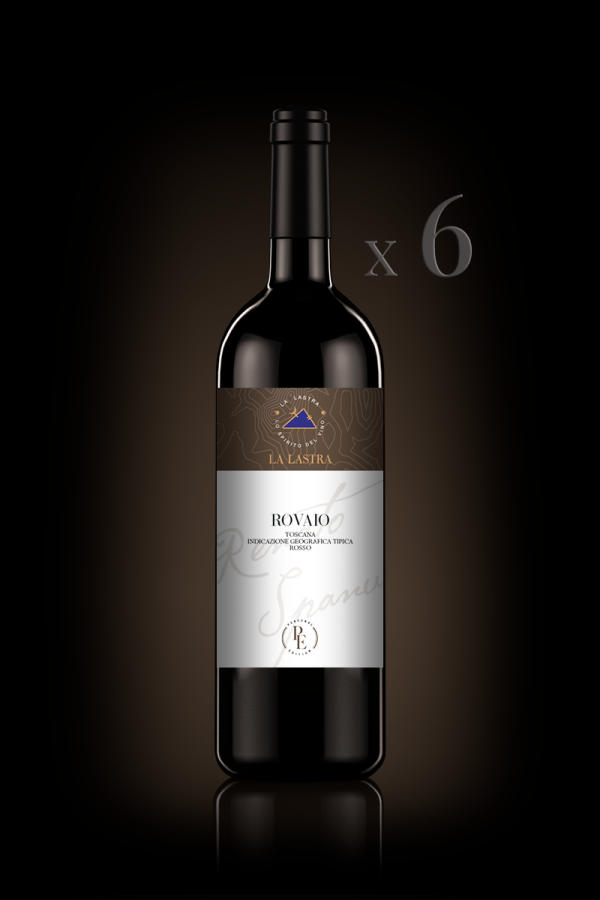 "IGT Toscana Rosso ""Rovaio"" - Biologico - Personal Edition - 6 Bott. 0,75 Lt"