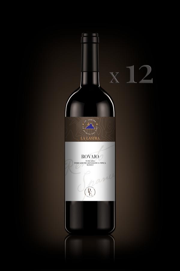 "IGT Toscana Rosso ""Rovaio"" - Biologico - Personal Edition - 12 Bott. 0,75 Lt"