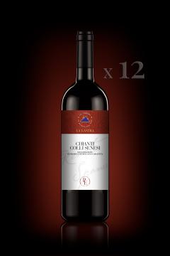 Chianti Colli Senesi DOCG - Organic - Personal Edition - 12 Bott. 0,75 Lt