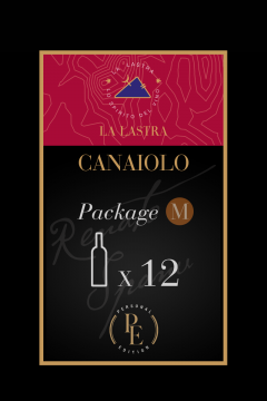 """Package Size M - Organic Red Wine """"Canaiolo Nero"""" - Tuscany - Buy Online"""