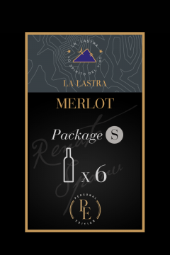 """Package Size S - Organic Red Wine """"Merlot"""" - Tuscany - Buy Online"""