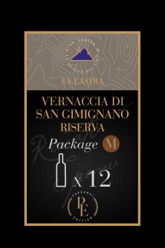 Confezione Tg. M - Vino Bianco Biologico - Vernaccia di San Gimignano Riserva - Toscana - Acquista Online