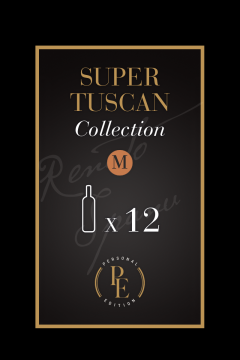 Super Tuscan Collection - Size M - Organic Wine online - 12 Bott.