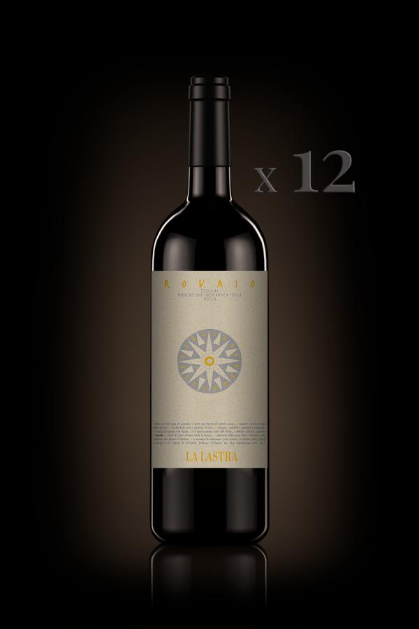 "IGT Toscana Rosso ""Rovaio"" - Organic - 12 Bott. 0,75 Lt"