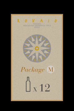 """Package Size M - Organic Red Wine """"Rovaio"""" - Tuscany - Buy Online"""