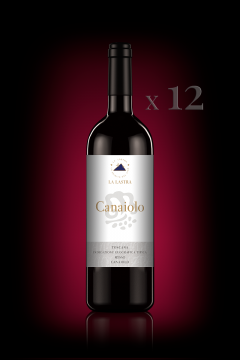 "IGT Toscana Rosso ""Canaiolo"" - Organic - 12 Bott. 0,75 Lt"