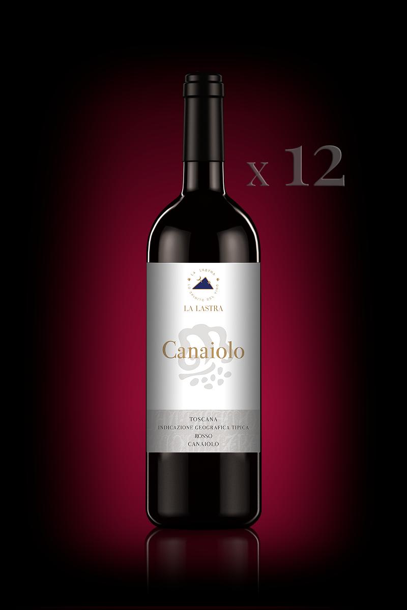 "IGT Toscana Rosso ""Canaiolo"" - Biologico - 12 Bott. 0,75 Lt"