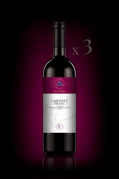 "IGT Toscana Rosso ""Cabernet Franc"" - Biologico - Personal Edition - n°3 Bott. 0,75 Lt"