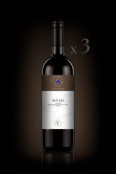 "IGT Toscana Rosso ""Rovaio"" - Biologico - Personal Edition - n°3 Bott. 0,75 Lt"