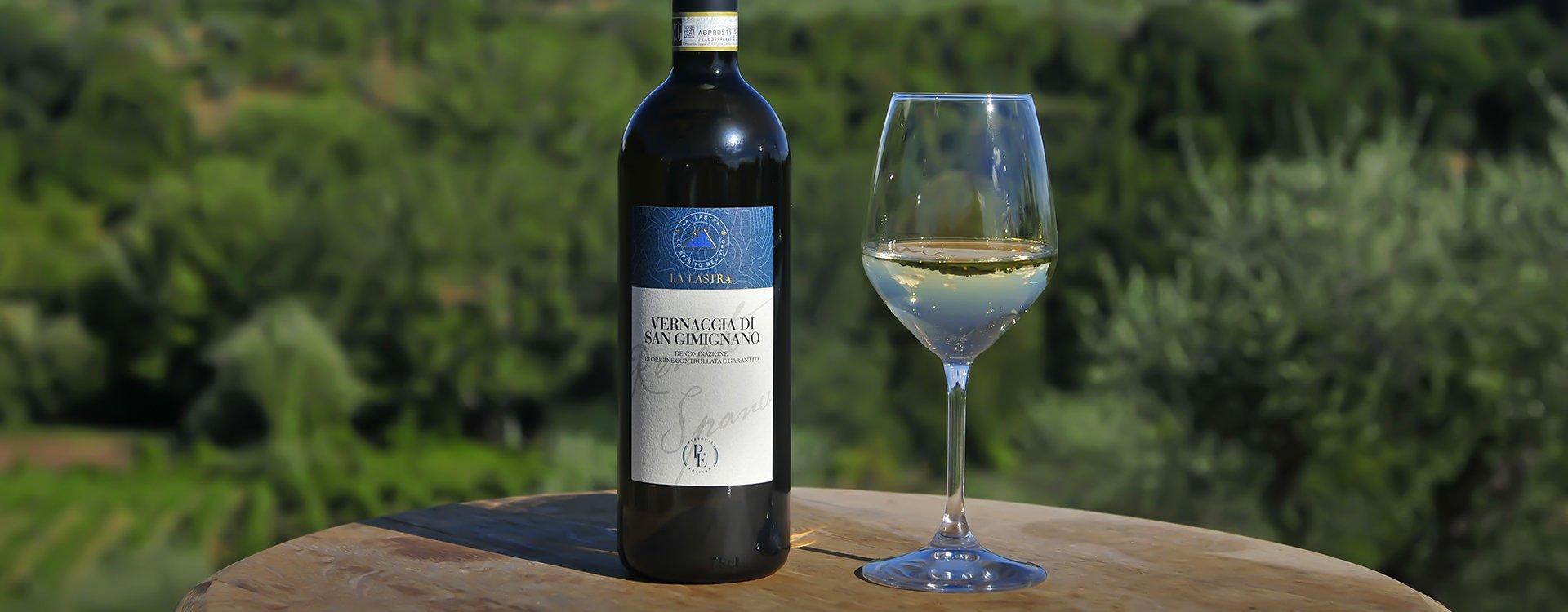 A Study on Aromagramme of Vernaccia di San Gimignano wine - La Lastra