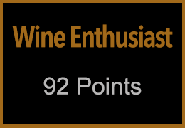 Awards of our work by Wine Enthusiast